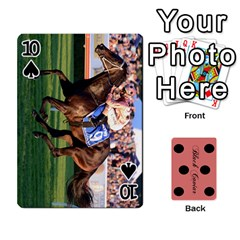 Black Caviar By Banger Harvey   Playing Cards 54 Designs   Hehizzgmko9e   Www Artscow Com Front - Spade10