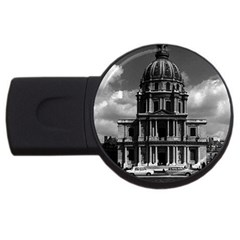 Vintage France Paris Church Saint Louis Des Invalides 2gb Usb Flash Drive (round) by Vintagephotos