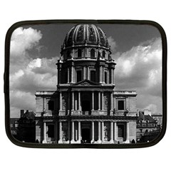 Vintage France Paris Church Saint Louis Des Invalides 12  Netbook Case by Vintagephotos