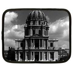 Vintage France Paris Church Saint Louis Des Invalides 13  Netbook Case by Vintagephotos