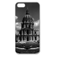 Vintage France Paris Church Saint Louis Des Invalides Apple Seamless Iphone 5 Case (clear) by Vintagephotos