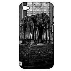 Vintage France Paris  Invalides Marshal Foch Tomb 1970 Apple Iphone 4/4s Hardshell Case (pc+silicone) by Vintagephotos