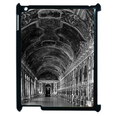 Vintage France Palace Of Versailles Mirrors Galery 1970 Apple Ipad 2 Case (black) by Vintagephotos