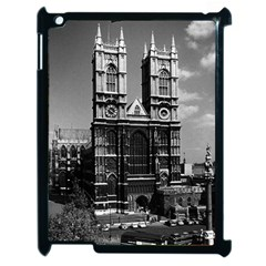 Vintage Uk England London Westminster Abbey 1970 Apple Ipad 2 Case (black)