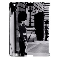Vintage Uk England London Sentry At Buckingham Palace Apple Ipad 3/4 Hardshell Case (compatible With Smart Cover) by Vintagephotos