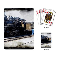 The Steam Train Standard Playing Cards by AkaBArt