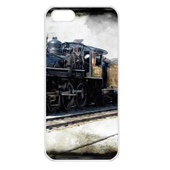 The Steam Train Apple Iphone 5 Seamless Case (white) by AkaBArt