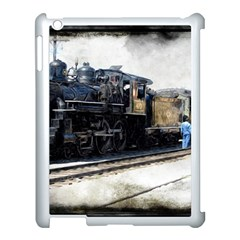 The Steam Train Apple Ipad 3/4 Case (white)