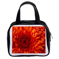 Chrysanthemum Twin Sided Satchel Handbag