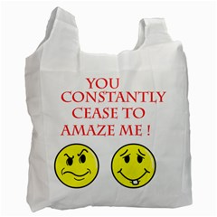 Cease To Amaze Twin Sided Reusable Shopping Bag