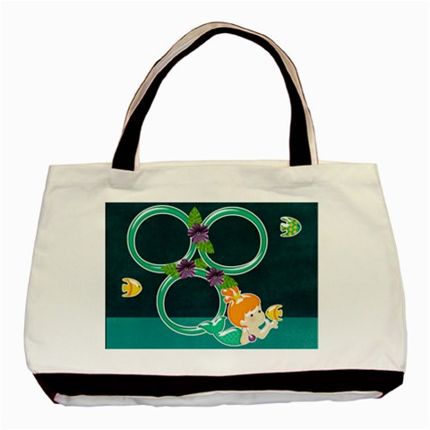 Beach Baby Bag By One Of A Kind Design Studio   Basic Tote Bag   J5wjv58qrst1   Www Artscow Com Front