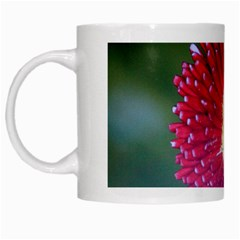 Red Flower White Mug by ILPADRINO810