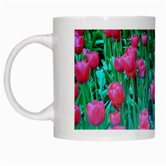 Tulip Flowers White Mug by ILPADRINO810