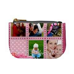 Mothers Day By Jo Jo   Mini Coin Purse   Mz3yujjt4kbr   Www Artscow Com Front