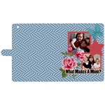 mothers day - Apple iPad 3/4 Woven Pattern Leather Folio Case