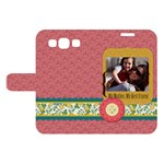 mothers day - Samsung Galaxy S3 Woven Pattern Leather Folio Case