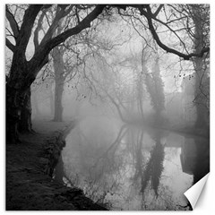 Foggy Morning, Oxford 16  X 16  Unframed Canvas Print by artposters