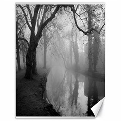 Foggy Morning, Oxford 18  X 24  Unframed Canvas Print by artposters