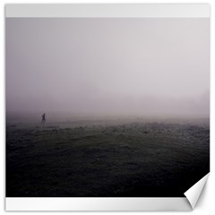 Foggy Morning, Oxford 20  X 20  Unframed Canvas Print by artposters