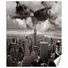New York, Usa 8  X 10  Unframed Canvas Print by artposters