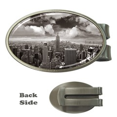 New York, Usa Money Clip (oval) by artposters