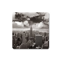 New York, Usa Large Sticker Magnet (square) by artposters