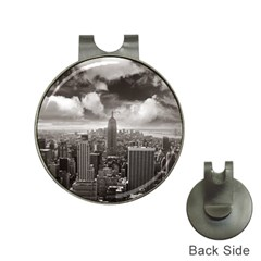 New York, Usa Hat Clip With Golf Ball Marker by artposters