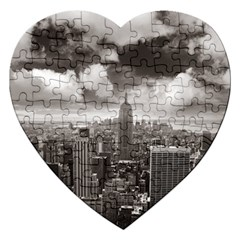 New York, Usa Jigsaw Puzzle (heart) by artposters