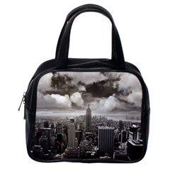 New York, Usa Single Sided Satchel Handbag by artposters