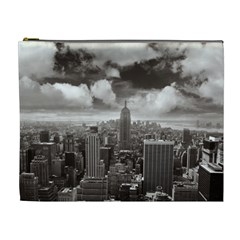 New York, Usa Extra Large Makeup Purse