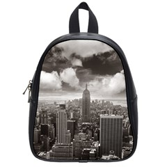 New York, Usa Small School Backpack by artposters