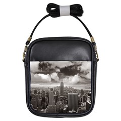 New York, Usa Kids  Sling Bag by artposters