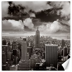 New York, Usa 12  X 12  Unframed Canvas Print by artposters