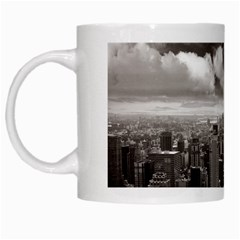 New York, Usa White Coffee Mug by artposters