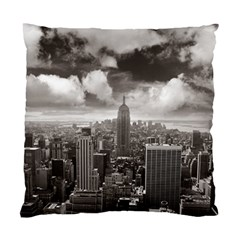 New York, Usa Twin Sided Cushion Case by artposters