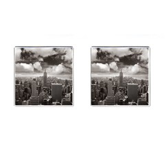 New York, Usa Square Cuff Links by artposters