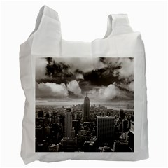 New York, Usa Twin Sided Reusable Shopping Bag by artposters
