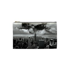 New York, Usa Small Makeup Purse by artposters
