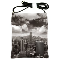 New York, Usa Cross Shoulder Sling Bag by artposters