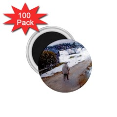 Rainy Day, Salzburg 100 Pack Small Magnet (round) by artposters