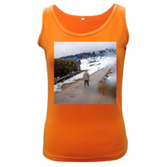 rainy day, Salzburg Dark Colored Womens'' Tank Top by artposters