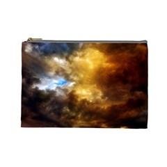 Cloudscape Large Makeup Purse