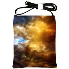 Cloudscape Cross Shoulder Sling Bag by artposters