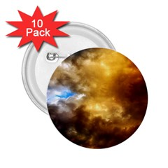 Cloudscape 10 Pack Regular Button (round) by artposters