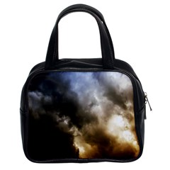 Cloudscape Twin Sided Satchel Handbag by artposters