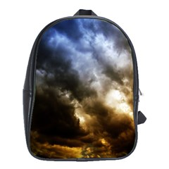 Cloudscape Large School Backpack by artposters