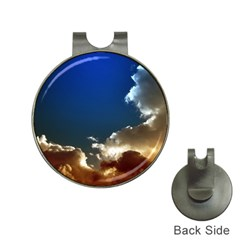 Cloudscape Hat Clip With Golf Ball Marker by artposters