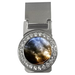 Cloudscape Money Clip With Gemstones (round) by artposters