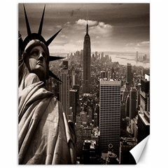 Statue Of Liberty, New York 11  X 14  Unframed Canvas Print by artposters