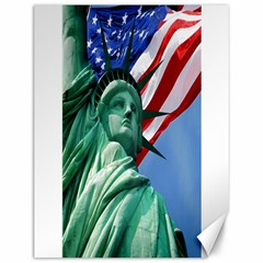 Statue Of Liberty, New York 12  X 16  Unframed Canvas Print by artposters